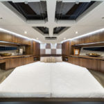 Galeon 460 FLY cabine pointe