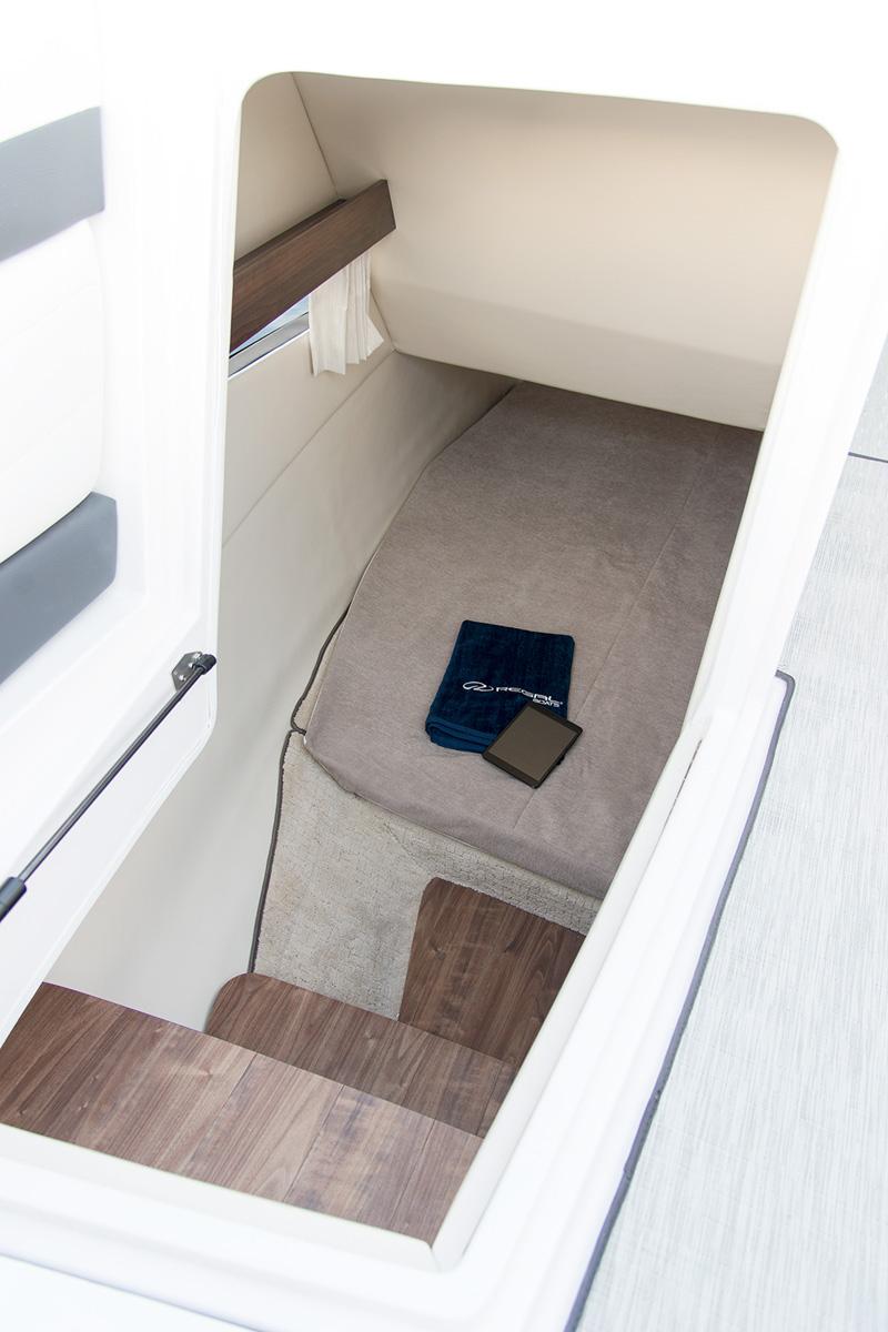 Regal 33 OBX accès cabine