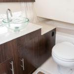 Regal 33 OBX toilettes