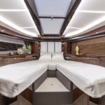 Galeon 400 FLY cabine pointe