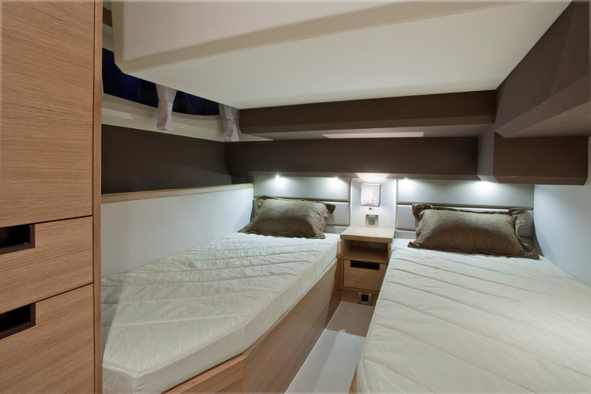 Galeon 420 FLY cabine double