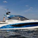 Galeon 485 HTS profil bleu