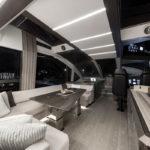 Galeon 650 SKYDECK salon cockpit