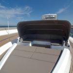Galeon 780 CRYSTAL taud bain de soleil avant