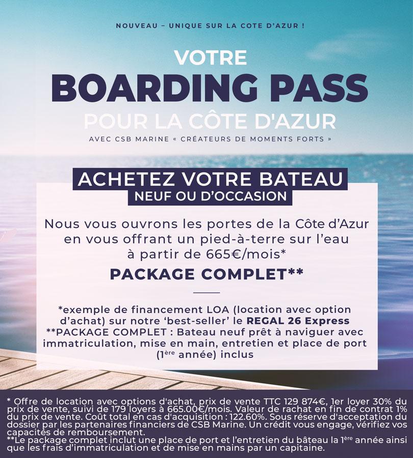 boarding pass REGAL 26 Express