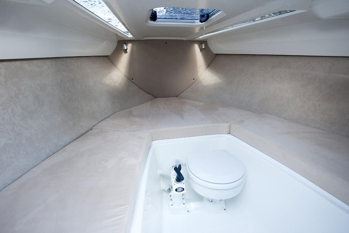 Parker 630 Day Cruiser cabine