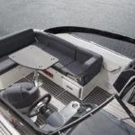 Parker 630 Day Cruiser cockpit