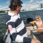 Parker 690 Day Cruiser bain de soleil arrière convertible
