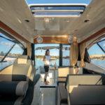 Parker 750 Cabin Cruiser assises intérieures