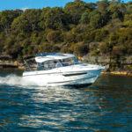 Parker 750 Cabin Cruiser vitesse