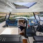 Parker 790 Explorer accès cabine