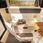 Parker 800 Pilot House banquette convertible
