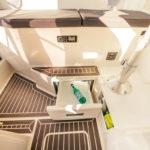 Parker 800 Pilot House frigo