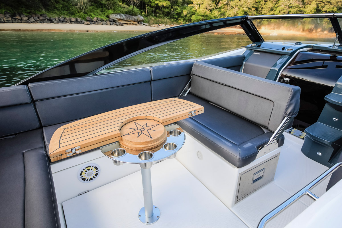 Parker 850 Voyager accessoires table