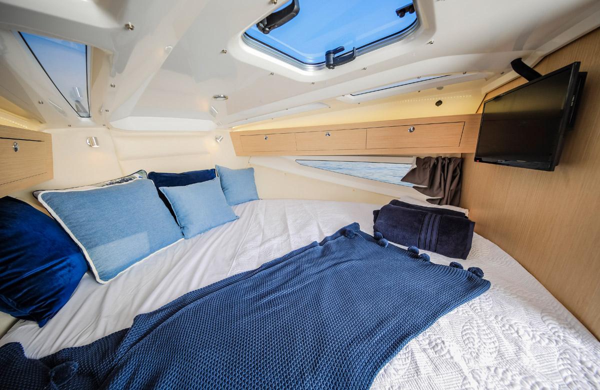 Parker 850 Explorer cabine pointe