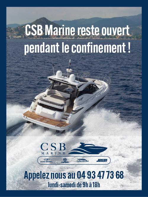 CSB Marine ouvert pendant le confinement d'avril 2021